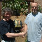 "Iron Maiden Fan donates prize ""Lid"" to Auction"
