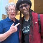 Nile Rogers pops into Abbey Road